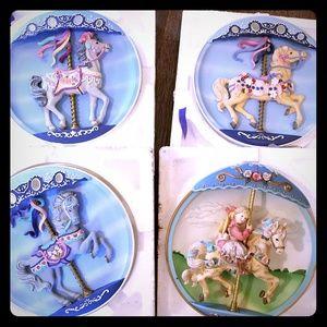 Rhoades Studio Jeweled Sweet Stander Carousel Hors